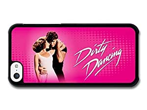 AMAF ? Accessories Dirty Dancing Pink Background Baby and Johnny Patrick Swayze case for iPhone 5C wangjiang maoyi by lolosakes