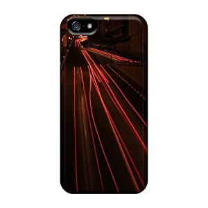 Anglams Iphone 5/5s Hybrid Tpu Case Cover Silicon Bumper Speed 4