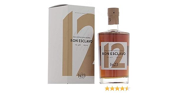 Ron Esclavo 12 Years Old Solera Rum in Gift Box - 700 ml