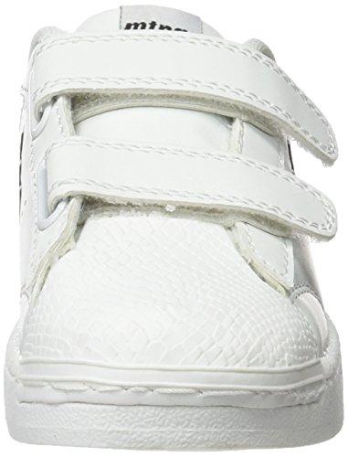 MTNG agon, Zapatillas infantil, Multicolor (Action PU Blanco/Raspe Negro), 30 EU