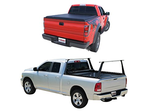 Access 3000056 Tonneau Cover & Bed Rack Bundle for Ford F150 w/5'-6