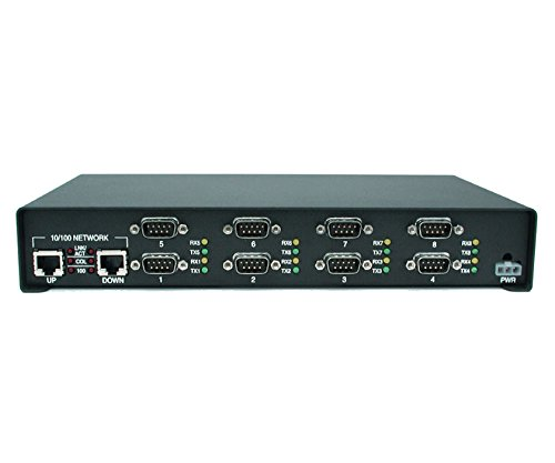 Comtrol DeviceMaster RTS 8-Port Device Server - 8 x DB-9 , 2 x RJ-45 - 99448-0 by Generic