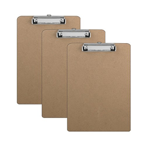 Clipboards Hardboard Flat Inches Units