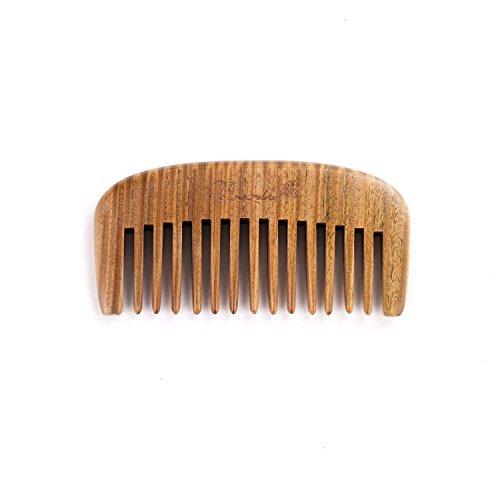 Top pocket comb wide tooth