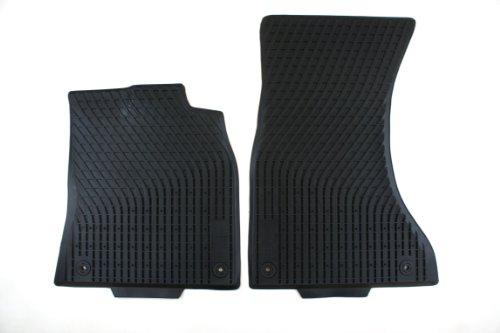 amazon com genuine audi accessories 8k1061221a041 black all weather rh amazon com 1999 Audi A4 Quattro Floor Mats 1999 Audi A4 Quattro Floor Mats