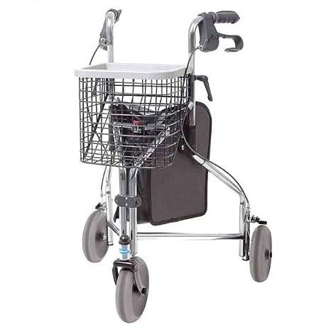 Invacare Delta - Andador de tres ruedas cromado: Amazon.es ...