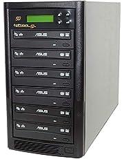 Copystars DVD Duplicator 24X CD DVD Burner 1 to 5 Copier Sata Dual Layer Burner DVD Duplicator Tower SYS-1-5-ASUS-CST