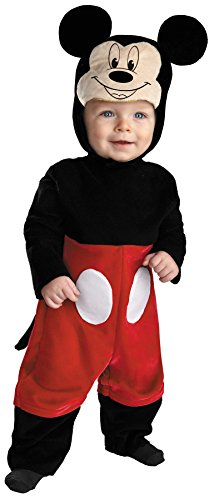 Mickey Mascot Costumes (UHC Baby Boy's Mickey Mouse Theme Outfit Infant Halloween Fancy Costume, 6-12M)