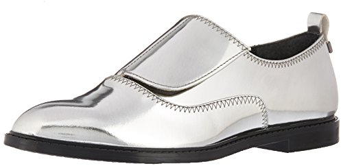 Calvin Klein Women's Dayo Metallic Oxford Flat