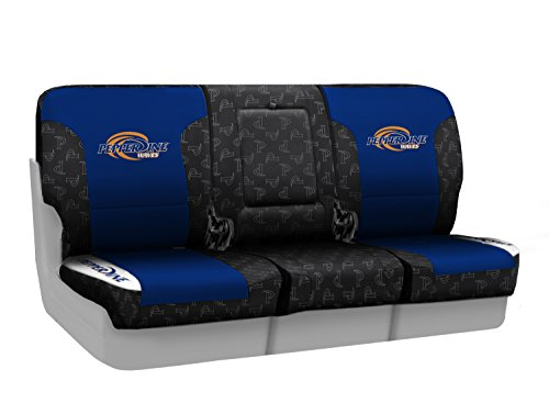 Coverking Front 40/20/40 NCAA Licensed Custom Fit Seat Cover for Select Nissan Titan Models - Neosupreme (Pepperdine University) by Coverking