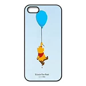 Brand New Durable Back Phone Case for Iphone 5,5S Cover Case - Winnie the Pooh quote HX-MI-1616059