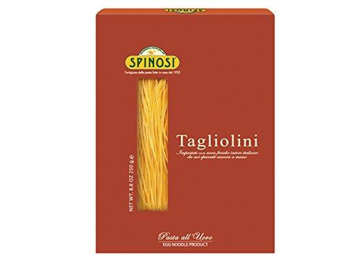 Spinosi Tagliolini Pasta With Eggs - (Carbonara Pasta)