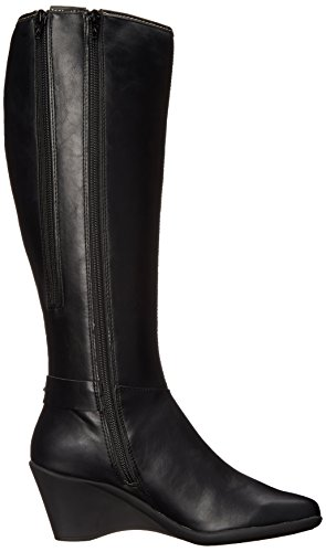 ... Aerosoler Kvinners Flott Riding Boot Sort