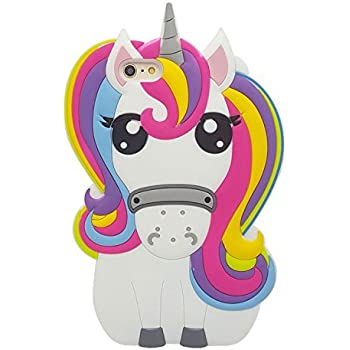 Amazon.com: Joyleop Rainbow Unicorn Case for iPhone 5 5C