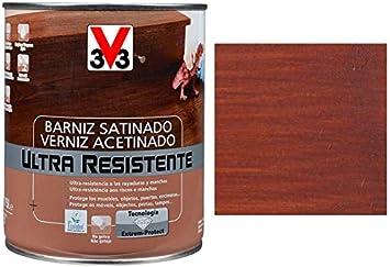 BARNIZ MADERA INTERIOR V33 CAOBA: Amazon.es: Bricolaje y ...