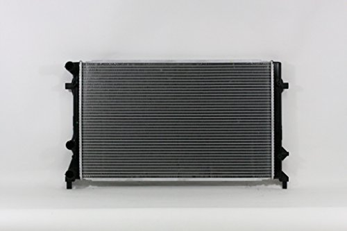 Vw Passat Cooling - Radiator - Cooling Direct For/Fit 13422 12-16 Volkswagen VW Passat 2.5L Plastic Tank Aluminum Core