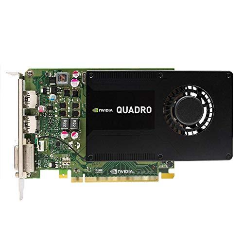 Dell Nvidia Quadro K2200 4GB GDDR5 Dual DisplayPort + 1x DVI PCI-e Video Card GMNNC (Renewed)