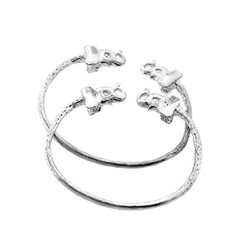 - Elephant .925 Sterling Silver West Indian BABY Bangles (MADE IN USA)