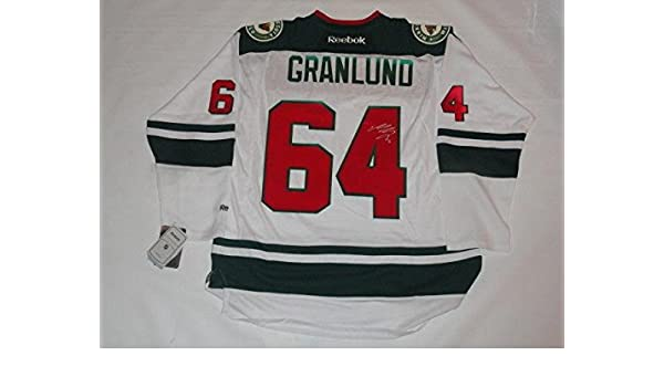 Mikael Granlund Signed Jersey - Home Reebok Licensed Proof - JSA Certified  - Autographed NHL Jerseys at Amazon s Sports Collectibles Store 627a20a17
