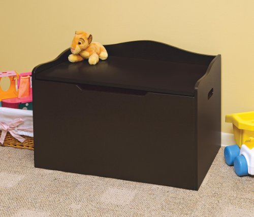 046605713501 - Badger Basket Bench Top Toy Box, Espresso carousel main 2