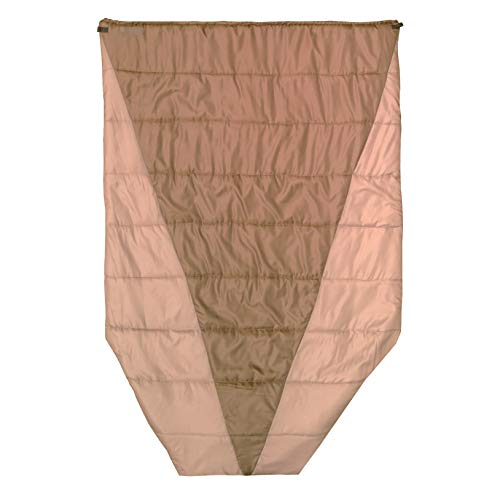 Go Outfitters Adventure Top Quilt, The Sleeping Un-Bag and Hammock Camping Top Quilt (Coyote Brown)