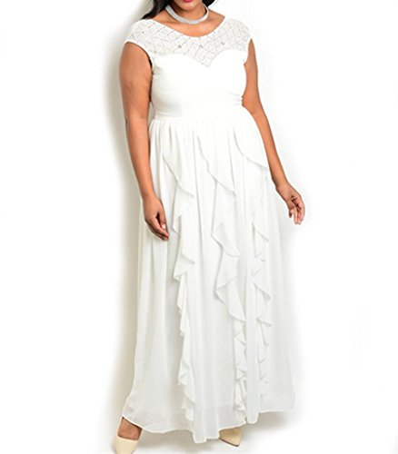 Ivory Special Occasion Dress - 2