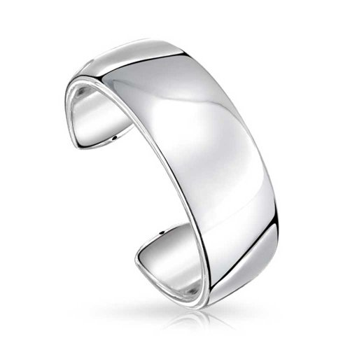 Bling Jewelry haute poli 925 Argent Sterling Brassard large Bracelet bracelet