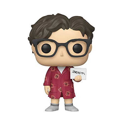 Funko- Pop Vinilo Big Bang Theory S2 Leonard Figura Coleccionable, Multicolor, Talla Unica (38586)