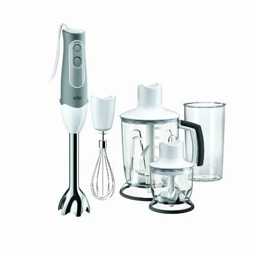 Braun MQ545 Multiquick 5 Hand Blender with Chopper & Grinder, 220V (European Cord)