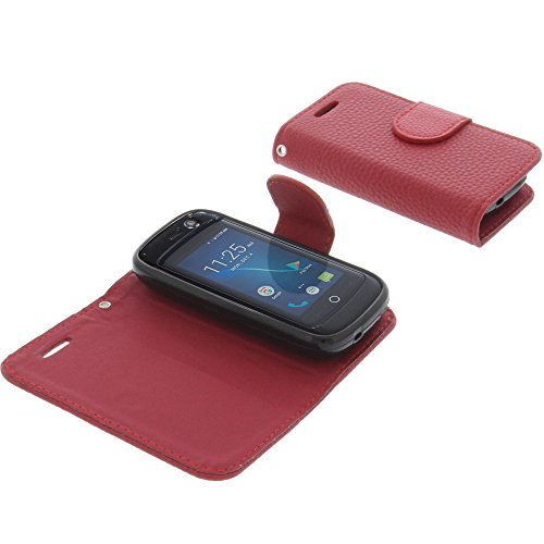 foto-kontor Cover for Unihertz Jelly Pro Book-Style red case
