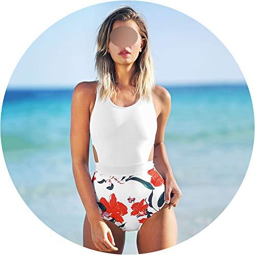 retro store One Piece Swimsuit Women Tied Bow Cutout Tank Monokini 2019 Girl Beach Bathing Suit Swimwear,CYY1100,L