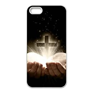 Cross Customized Cover Case with Hard Shell Protection for Iphone 5,5S Case lxa#867085