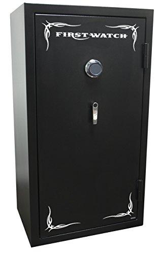 First Watch 24-Gun Black Hills Series Fire-Resistant Mechanical Safe, Black Powder Coat, BH50126240