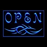 100107 Open Tattoo Body Piercing Creations Display LED Light Sign