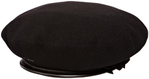Kangol Unisex-Adults Monty Beret, Black, M