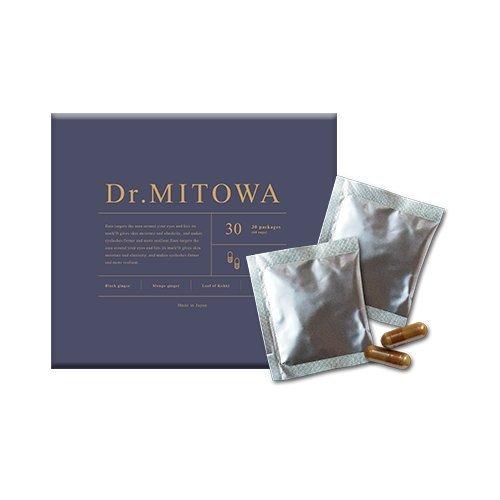 Dr.MITOWA(ドクターミトワ)話題のミトコンドリアで細胞を活性化!次世代型ミトコンドリアサプリ 2粒×30包 約1ヶ月分 B07B64RWJD