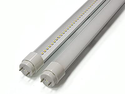 Plug-N-Play 4ft 18 Watt T8 LED Tube DLC & UL approval Cool White (5000K) Frosted Lens, Ballast Compatible