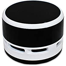Mini Vacuum Cleaner Desktop Laptop Keyboard Desk Dust Decor for Computer, Hairs,Crumbs, Piano,Desk and Pet House(black)