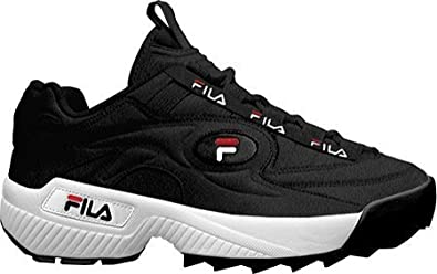 Amazon.com | Fila D-Formation Men's Sneakers Black/White ...