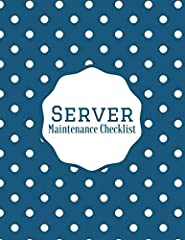 Monitor and maintain the safety of your server and equipment at home and in the workplace. Our Server Maintenance journal, let's you have a proper review of the condition of your servers and note key areas that need attention.   Introductory...