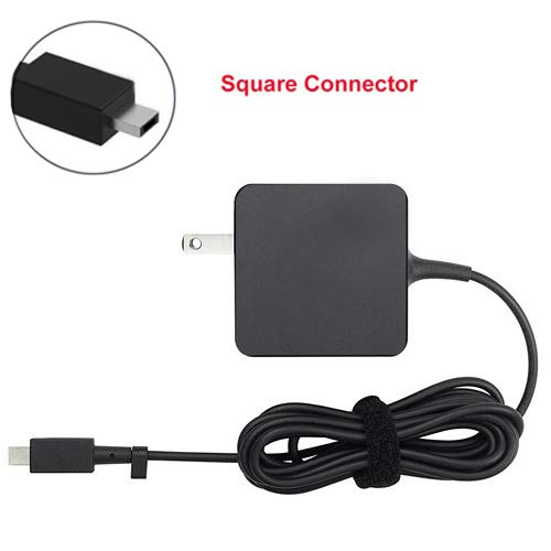 [UL Listed] AC Charger for Asus C100 C100PA C100P C100PA-DB02 Chromebook Flip Notebook PC Laptop Portable 7.5Ft Power Supply Adapter Cord ()
