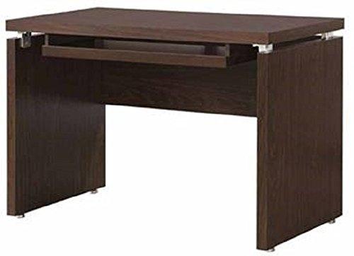 - Coaster Home Furnishings Peel Computer Desk with Keyboard Tray Medium Oak