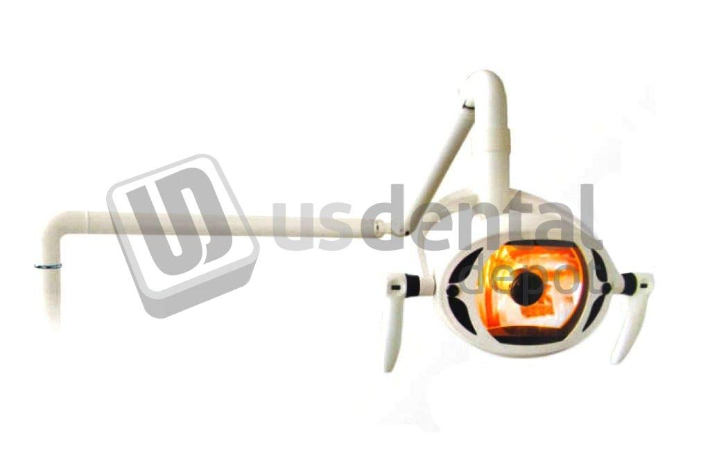 PEGASUS - #8 Halogen Dental Lamp Complete - Square - Plastic Frame - Automatic # CX-249-1 (Does not incluide The Arm) [ China ] 104974 Us Dental Depot