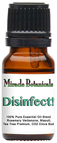 Miracle Botanicals Disinfect! Essential Oil Blend – 100% Pure Therapeutic Grade Essential Oils – 10ml or 30ml Sizes – 10ml