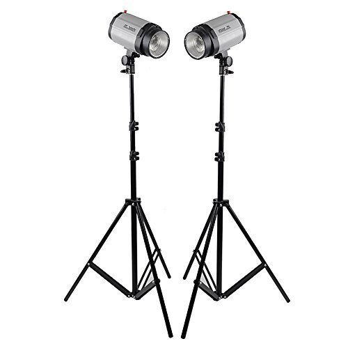 Neewer 10ft/300cm Aluminum Alloy Photo/Video Tripod Light Stand for Studio Strobe and Lighting Fixtures, Soft Box - 2 Pack