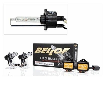 BELLOF(ベロフ) ヘッドライト HID H4(Hi/Lo)   6700K AMC1012 【バルブキット】 (シルキーホワイト) HL4MV B00JUJZ5RK