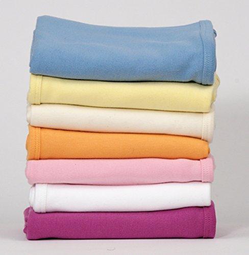 (Magnolia Organics Receiving Blanket - 1-Pack, White)