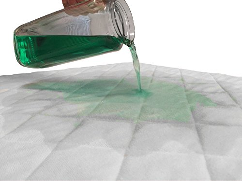 Incontinence Bed Pad Waterproof Mattress Sheet Protector Machine Washable (52'' X 34'') Highly Absorbent Bed Wetting Cover | Extra Soft Bamboo Sleeping Comfort | Kids and Adults by Seffer