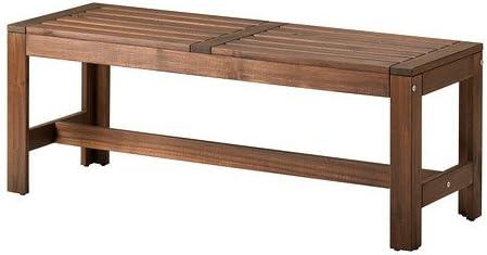 Ikea Applaro 102 051 81 Banc D Exterieur Marron Amazon Fr
