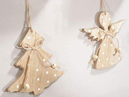 Alberi Di Natale In Legno Da Appendere : Ideapiu decorazioni in legno addobbi di natale in legno da